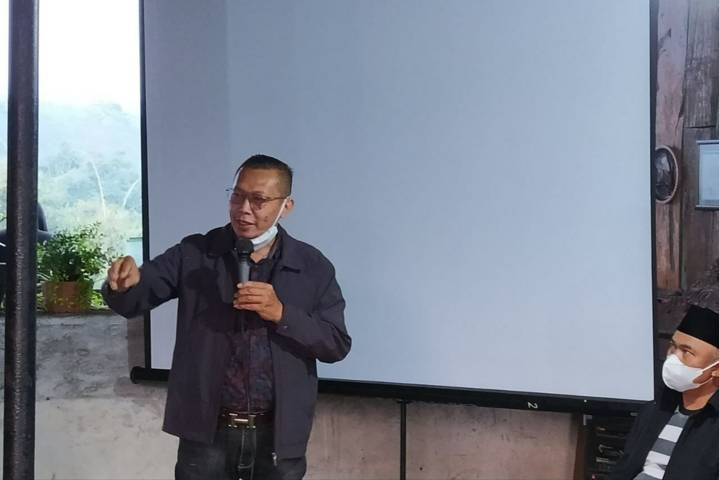 Ketua Komisi B DPRD Kota Batu Hari Danah Wahyono. (Foto:Azmy/Tugu Jatim)
