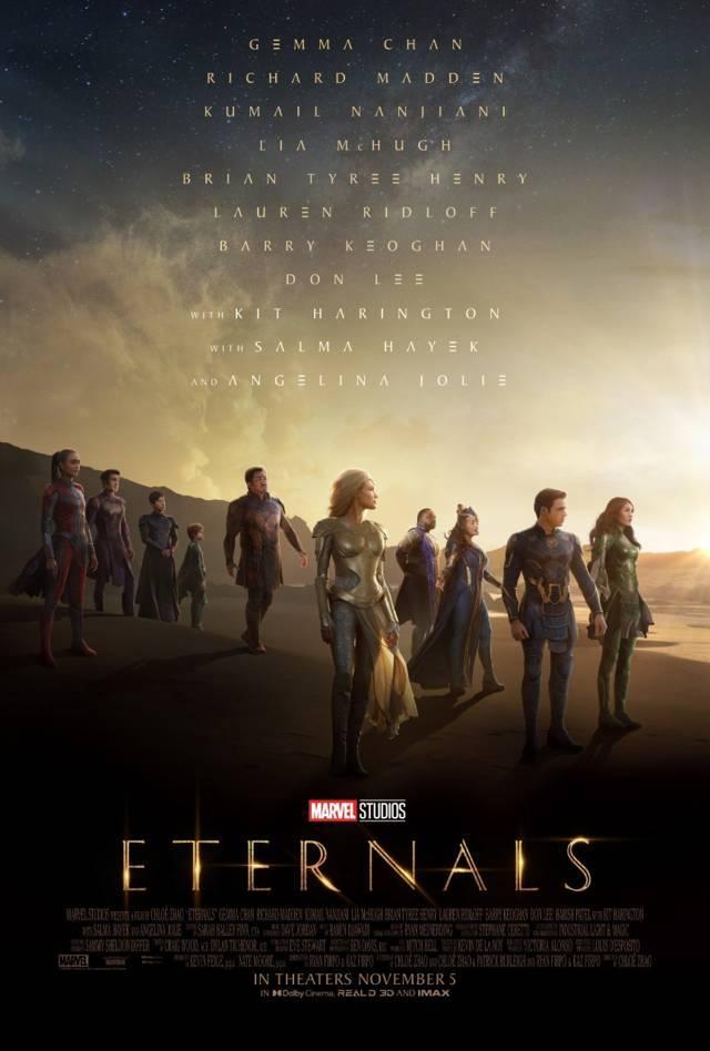 Poster film Eternals. (Foto: Marvel Studios/Tugu Jatim)