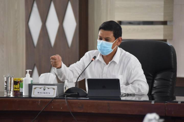Wali Kota Kediri Abdullah Abu Bakar. (Foto: Rino Hayyu Setyo/Tugu Jatim)