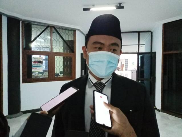 Wakil Ketua DPRD Tuban yang baru Imam Sutiono yang menggantikan Muhammad Ilmi Zada. (Foto: Rochim/Tugu Jatim)