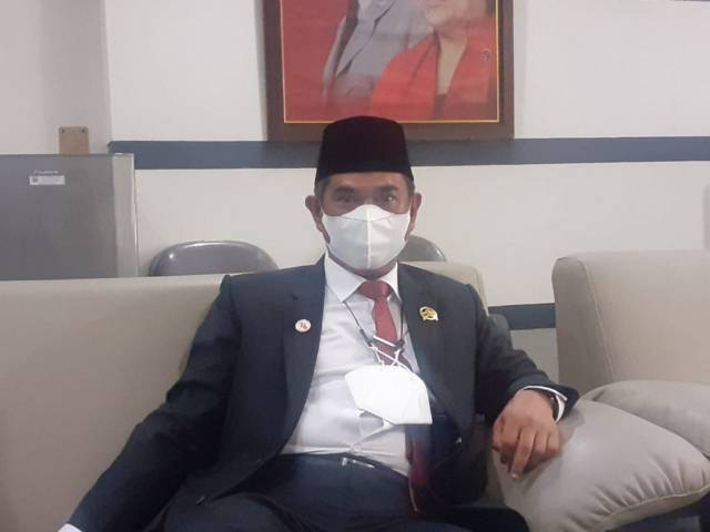 Ketua DPRD Kabupaten Malang Darmadi. (Foto: M. Sholeh/Tugu Jatim)