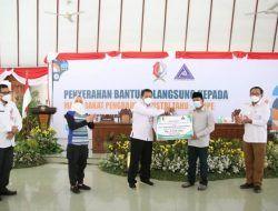 Bantu Pelaku Industri Tempe-Tahu, Pemkab Bojonegoro Gelontor Rp 276 Juta