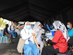 Sambut Pembelajaran Tatap Muka, Polres Tuban Vaksinasi 2.000 Pelajar