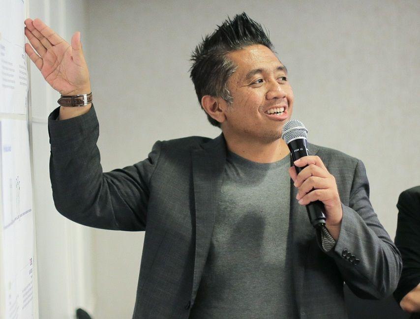 Hendro Fujiono, co-founder FujiShepherd and Associates Australia/tugu Jatim