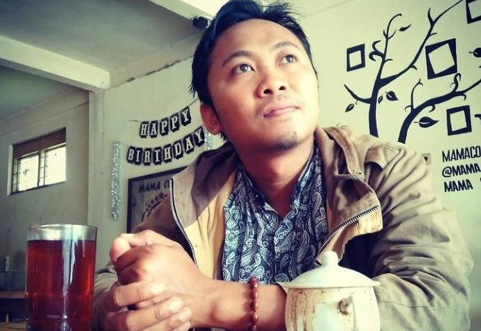 Achmad Faisol, pegiat sastra Malang/tugu jatim