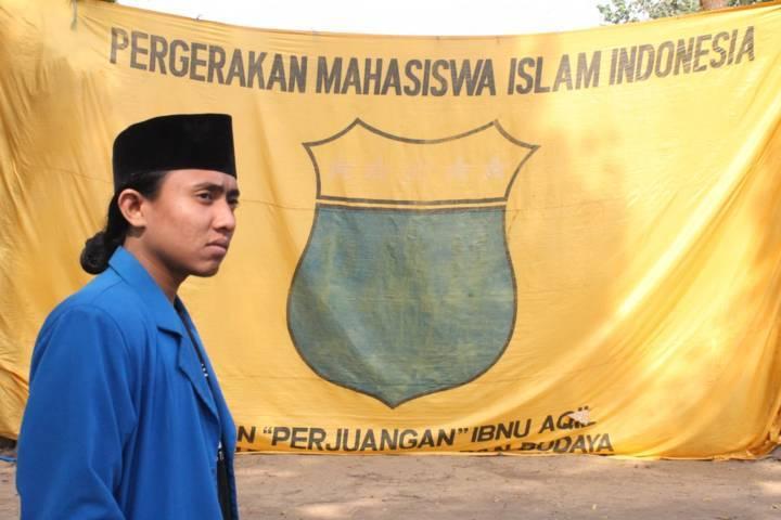 M. Ainur Roziqin, kader Pergerakan Mahasiswa Islam Indonesia (PMII) Kota Malang. (Foto: Dokumen/Tugu Jatim)