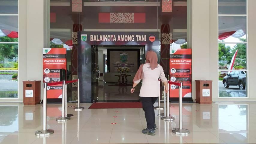Ilustrasi ASN di Balai Kota Among Tani. (Foto: M Ululn Azmy/Tugu Malang/Tugu Jatim) pemkot batu, opd, opd baru