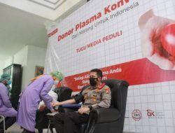 Kapolresta Malang AKBP Budi Hermanto Jadi Orang Pertama yang Donor Plasma Konvalesen