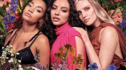 "Personel Little Mix, yaitu Leigh‑Anne Pinnock, Jade Thirlwall, dan Perrie Edwards dalam foto promosi album ""Between Us"". (Foto: Twitter @SonyMusicUK/Tugu Jatim)"