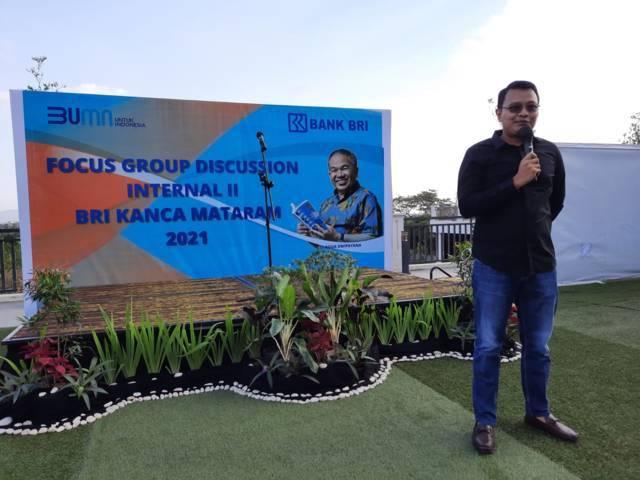 Pemimpin BRI Cabang Mataram Bayu Adityo. (Foto: Dokumen) tugu jatim