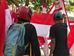 Covid-19 Masih Merajalela Jelang HUT RI ke-76, Penjual Bendera Terancam Merugi Lagi