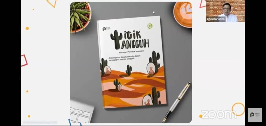 Buku berjudul Titik Tangguh merupakan rangkuman kisah ketangguhan member Pondok Inspirasi yang dikemas dalam satu buku antologi. (Foto: Dokumen)