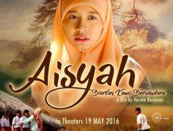 "Poster ""Aisyah: Biarkan Kami Bersaudara (2016)/tugu jatim"