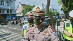 Wakasatlantas Polresta Malang Kota Suwarno saat dikonfirmasi soal Kota Malang yang masuk zona merah, tak lagi masuk zona hitam, Rabu (04/08/2021).(Foto: Rizal Adhi/Tugu Jatim)