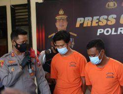 Curi Rel Kereta Api, 2 Pekerja Outsourcing KAI di Malang Ditangkap Polisi