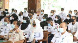 Acara kenaikan pangkat 486 PNS di Pendapa Malowopati Bojonegoro (09/06/2021). (Foto: Pemkab Bojonegoro/Tugu Jatim)