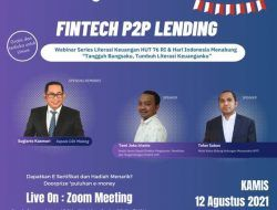 Webinar Series #6, OJK Malang X Tugu Media Group Bakal Ulas Fintech P2P Lending!