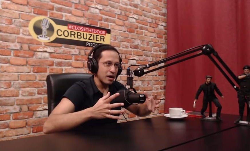 Nadiem Makeriem, menteri pendidikan, kebudayaan, riset dan teknologi saat hadir di podcast Deddy Corbuzier/tugu jatim