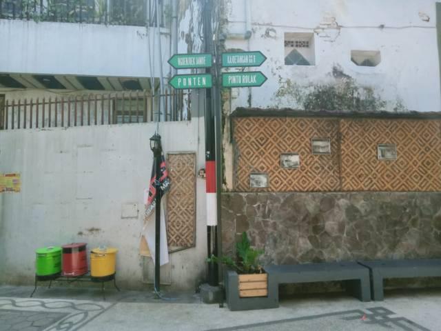 Salah satu spot kawasan Kampoeng Kajoetangan Heritage Kota Malang, Kamis (19/08/2021). (Foto: Rizal Adhi Pratama/Tugu Jatim)