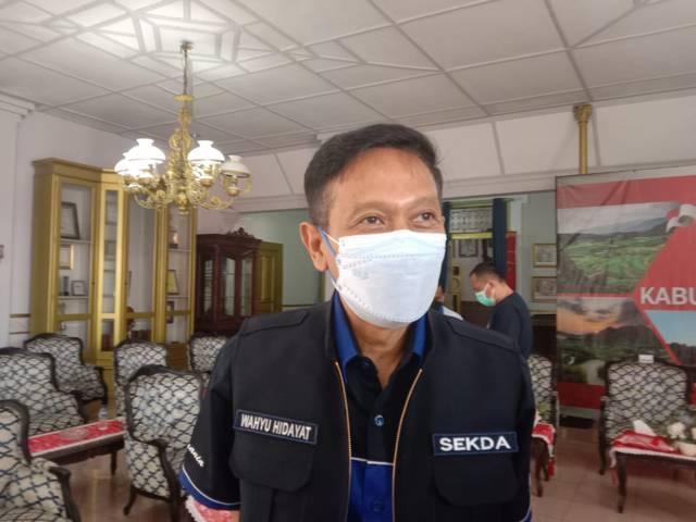 Sekda Kabupaten Malang Wahyu Hidayat saat ditemui usai rakor persiapan kunjungan Menko Marves, Rabu (11/08/2021). (Foto: M. Sholeh/Tugu Jatim)