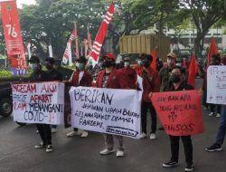 Banyak PHK Selama Pandemi, IMM Malang Raya Demo Tuntut Pemerintah Ikut Tanggung Jawab