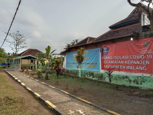 Isoter Kepanjen yang menggunakan 6 ruang kelas SDN Jatirejoyoso, Kabupaten Malang. (Foto: M Sholeh/Tugu Malang/Tugu Jatim)