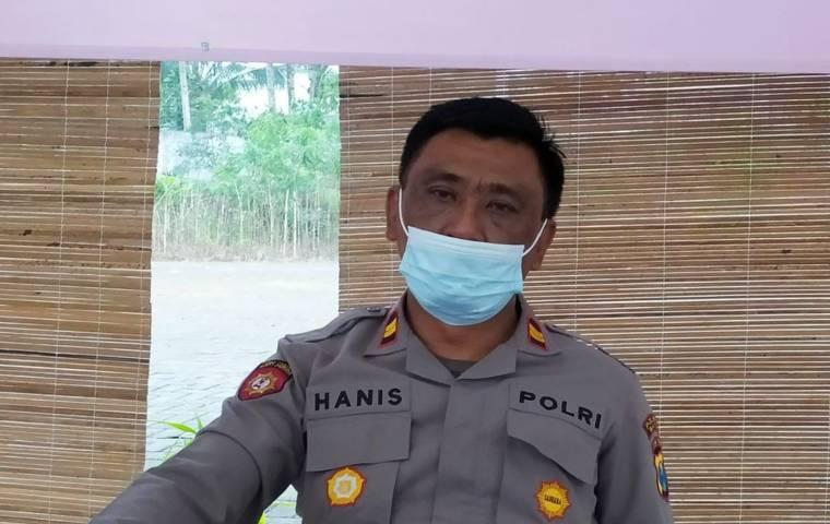 Kapolsek Ngantang, Iptu Hanis iswanto. (Foto: M Ulul Azmy/Tugu Malang/Tugu Jatim)