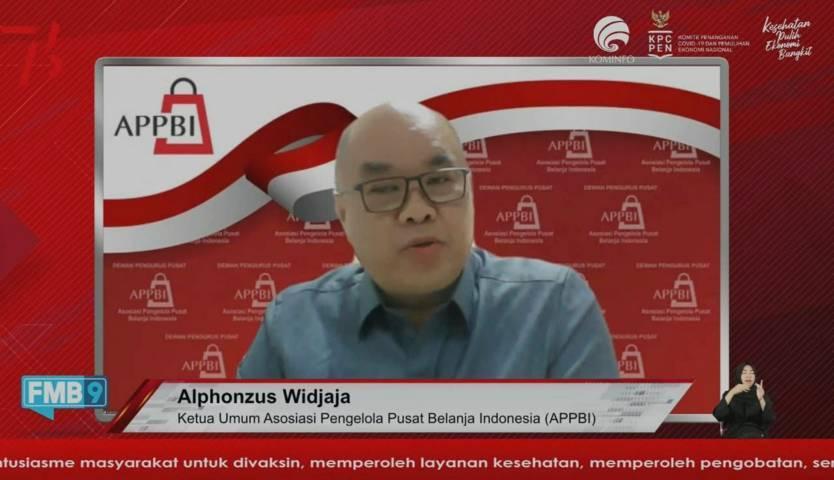 Virtual Dialog oleh KPCPEN terkait Penerapan Aturan Prokes Baru di Sektor Usaha, Rabu (18/8/2021). (Foto: Dokumen) tugu jatim