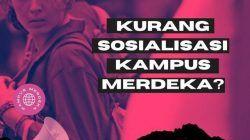 Ilustrasi program Kampus Merdeka dari Kemendikbud Ristek. (Ilustrasi: Dicky Hanafi/Tugu Jatim)