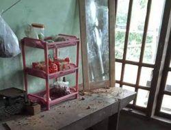 Peledakan Tebing Proyek Bendungan di Trenggalek, 8 Rumah Warga Rusak Terhantam Material