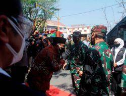 Panglima TNI Cek Simulasi Tracing Nakes, Babinsa dan Bhabinkamtibmas di Nganjuk
