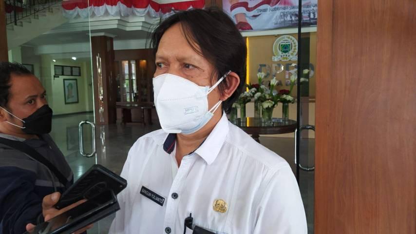 Kepala Dinas Perumahan, Kawasan Pemukiman dan Pertanahan (DPKPP) Kota Batu, Bangun Yulianto. (Foto: M Ulul Azmy/Tugu Malang/Tugu Jatim)