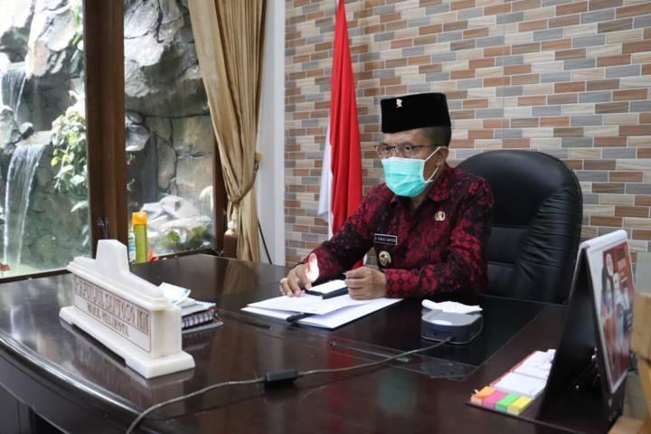 Wakil Wali Kota Batu Punjul Santoso. (Foto: Diskominfo Kota Batu) tugu jatim anggaran btt, belanja tidak terduga,