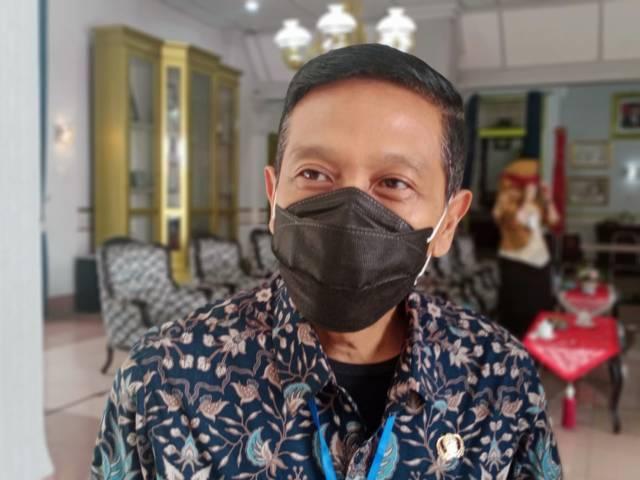 Sekda Kabupaten Malang, Wahyu Hidayat, pihaknya menyatakan bahwa 60 persen warganya yang mengikut tes PCR secara acak dinyatakan positif Covid-19. (Foto; M Sholeh/Tugu Malang/Tugu Jatim)