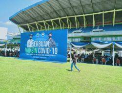 Kuota Online Vaksinasi di Stadion Gajayana Habis, Panitia Tambah 10 Ribu Dosis untuk Pendaftar Langsung