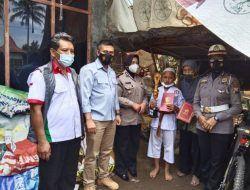 Siap Bedah Rumah, Polres Malang Beri Bantuan pada Saiful dan Ibu Sulastri