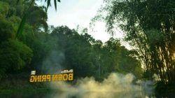 Objek wisata Boon Pring yang berada di Desa Sanankerto, Kecamatan Turen, Kabupaten Malang/tugu jatim