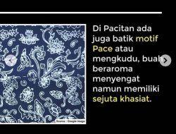 5 Keunikan Batik Pace Asli Pacitan