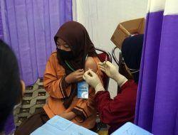 Dukung PTM Aman, Pemkot Kediri Vaksinasi 1.793 Siswa SD secara Serentak