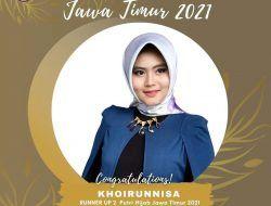 Sempat Gagal, Mahasiswa UB Raih Runner Up II Putri Hijab Jawa Timur 2021