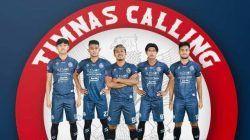 Lima pemain Arema FC yang dipanggil Timnas Indonesia untuk pemusatan latihan. (Foto: IG @aremafcofficial/Tugu Jatim)
