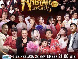 Malam Ini! Ambyar Awards Spesial 2021 MNCTV Bakal Sajikan Deretan Artis Terambyar