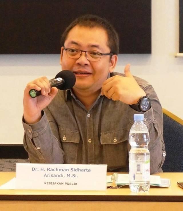 Rektor UNIM Dr Rachman Sidharta Arisandi MSi. (Foto: Dokumen/Tugu Jatim)