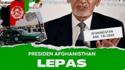 Presiden Afghanistan, Ashraf Ghani, yang melarikan diri saat Taliban menggempur ibu kota Kabul pada Minggu (15/8/2021). /tugu jatim