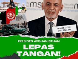 Presiden Ashraf Ghani Kabur, Taliban Tegaskan akan Pimpin Afghanistan Lebih Humanis