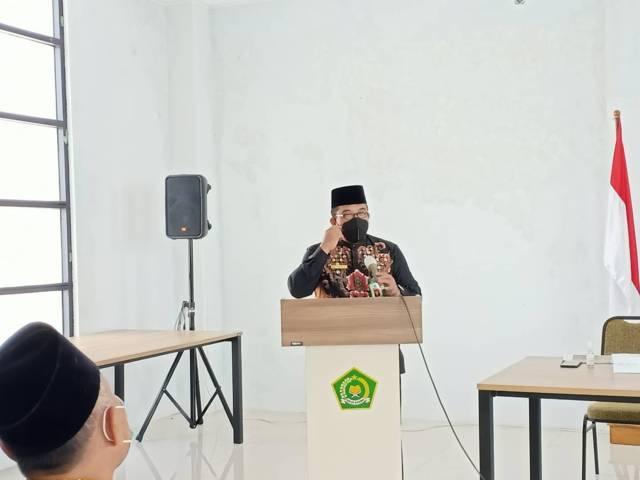 Kepala Kantor Kemenag Kabupaten Tuban Sahid. (Foto: Humas Kemenag Tuban/Tugu Jatim)