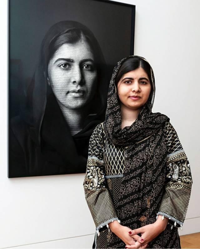 Malala Yousafzai, aktivis dan pejuang pendidikan anak perempuan asal Pakistan.(Foto: Pinterest/Tugu Jatim)