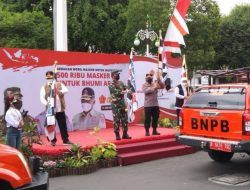 Panglima TNI-Kapolri Launching 20 Mobil Masker Gratis untuk Warga Malang Raya