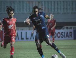 Bermain 10 Pemain Sejak Menit ke-3, Arema FC Tahan Imbang PSM Makassar