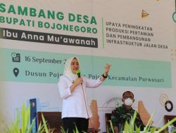 Sambang Desa, Bupati Bojonegoro Siap Fasilitasi Infrastruktur Perairan untuk Petani